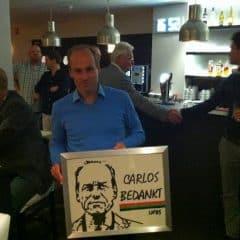 Carlos bedankt!