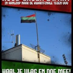 Heel Nijmegen kleurt rood groen zwart